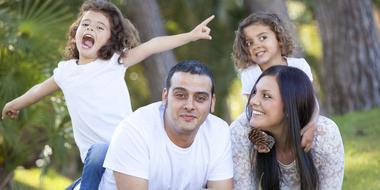 Thumb happy family